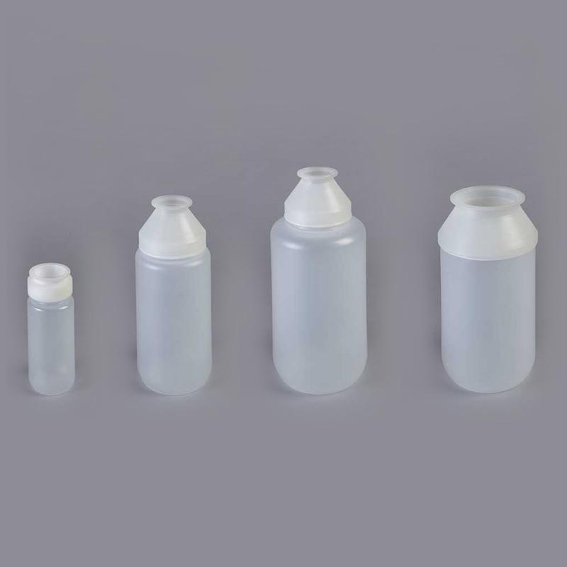 the range of ChargeBottle® P bottle sizes