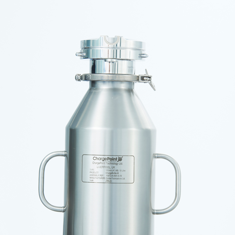Stainless steel ChargeBottle® M bottle