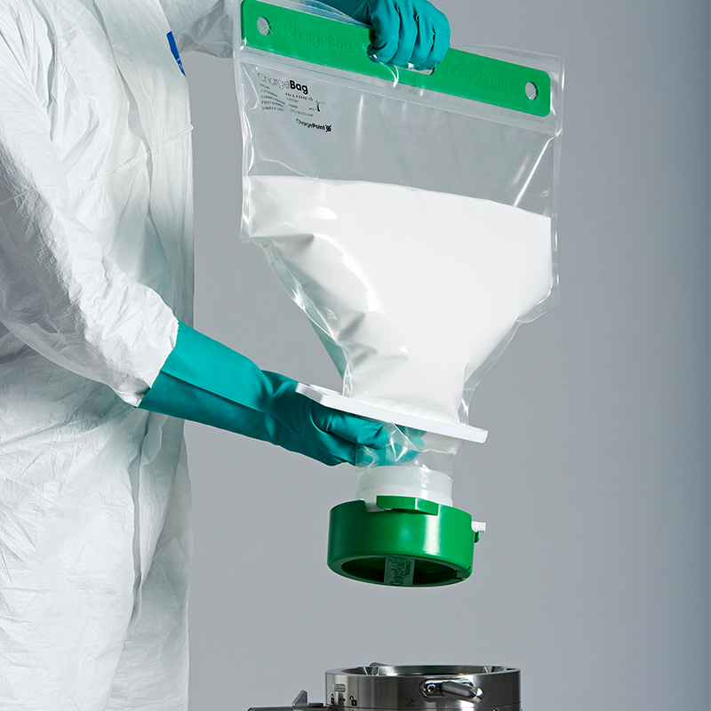 hipure ulp7 film bag containing powder ingredients